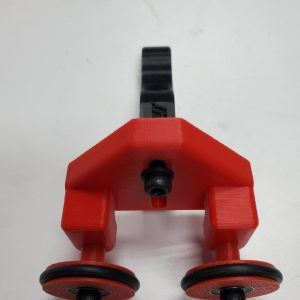 Rotary bottle Clamp Arm and Wheels