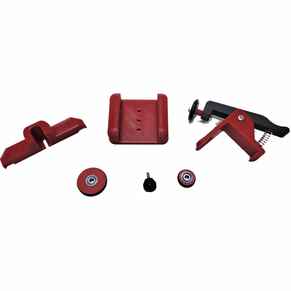 Improved Rotary Roller Clamp Kit for Boss flat rotary