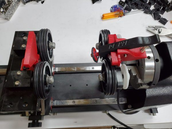 BossMod Rotary Roller Clamp Kit